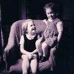 Heather and Pamela c. 1962