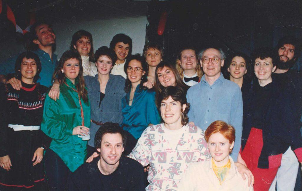 Yellow Door Tabernacle Choir, mid 1980s